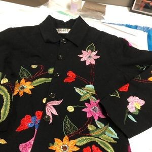 Embroidery beautiful jacket